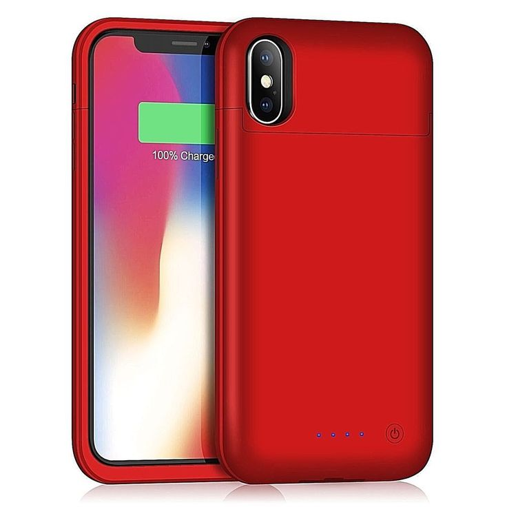 Iphone X Battery Case 5200Mah Rechargeable External Charging Case For Apple New #DealsToday