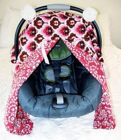 Closet Crafter Car Seat Canopy With Peek A Boo Tutorial