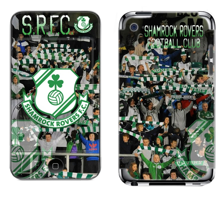 Shamrock Rovers skin for ipod touch