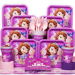 Sofia the First Birthday Party Ideas, Supplies and Decorations