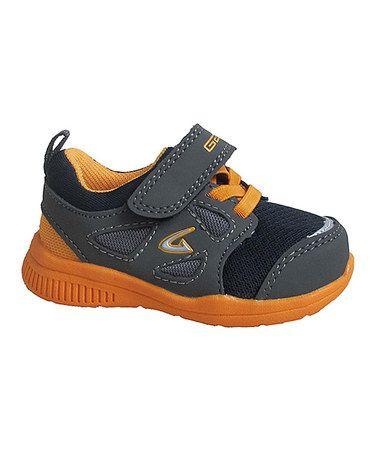 Look at this #zulilyfind! Gray & Orange Sneaker #zulilyfinds