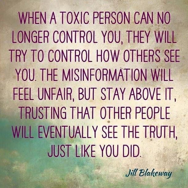 #toxic #narcissists may get her way, get that man she left on the back burner to impregnate herself by researching how to get pregnant (while an ex knocked up a girl twice), people will notice her toxic ways of saying words and not meaning it.