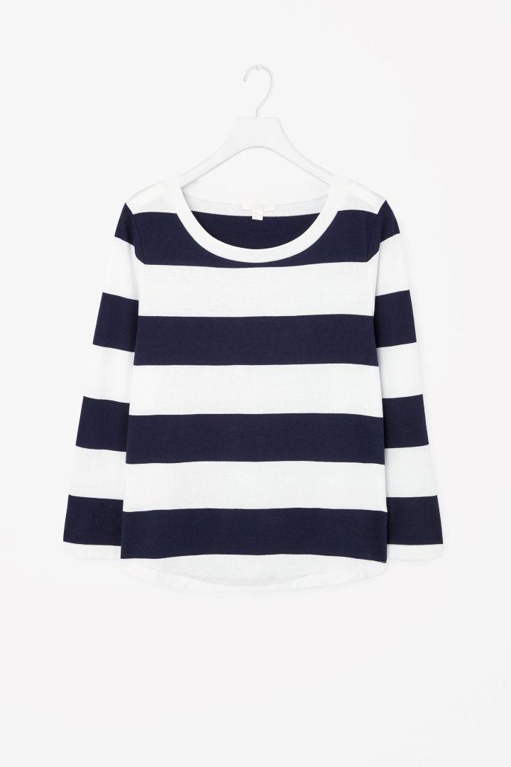 COS | 3/4-sleeve cotton t-shirt