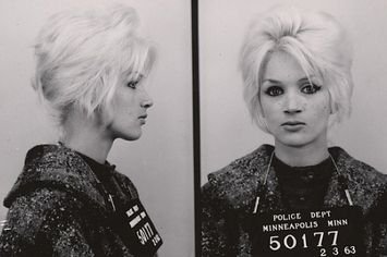 Bad babes breaking laws in beehives. From the collection of vintage mugshots of…