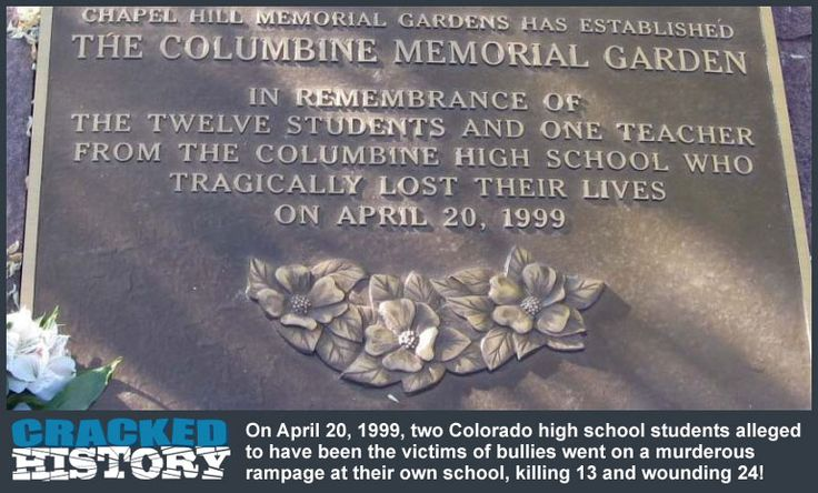 an introduction to the history of the shooting at columbine high schools Studies in school shootings are explored introduction  1999 columbine high school shootings in  research in school shootings 63 school shooting events and.