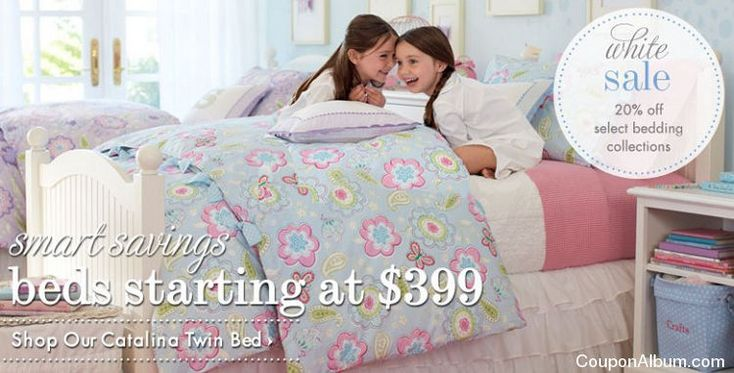 Pottery Barn Kids White Sale + Bedroom Furniture Sale!