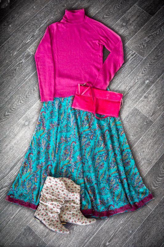 staple skirt with lace #handmade #soulmade #skirt #boho