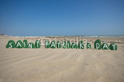 Saint Patrick's Day, March 17, festival time in Ireland
