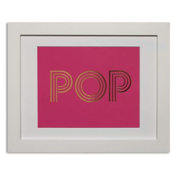 Pop - hot pink Papier d'Amour foiled prints range http://www.papierdamour.com.au/shop-by-category/foiled-prints.html