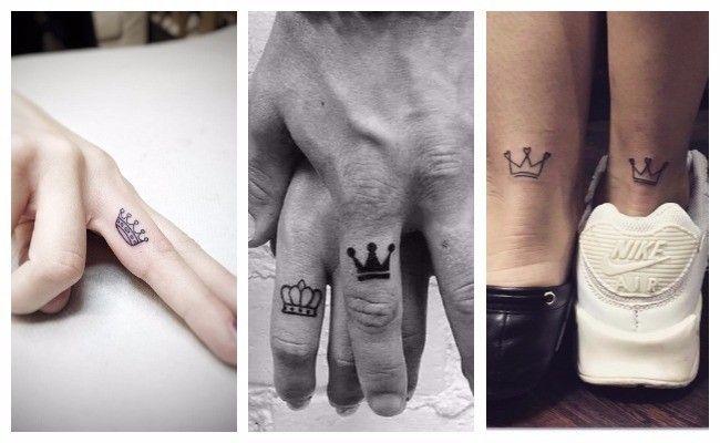 Tatuajes De Coronas Para Parejas Moda Tatuajes En Pareja