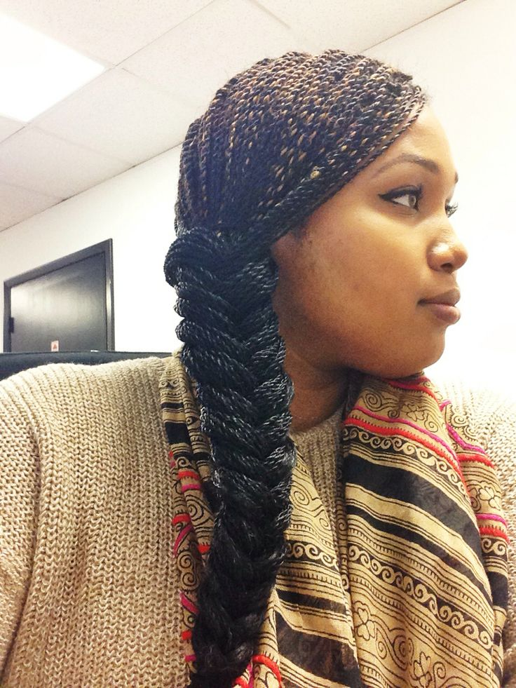 Senegalese Twists Fishtail Braid Protective Styles Micro