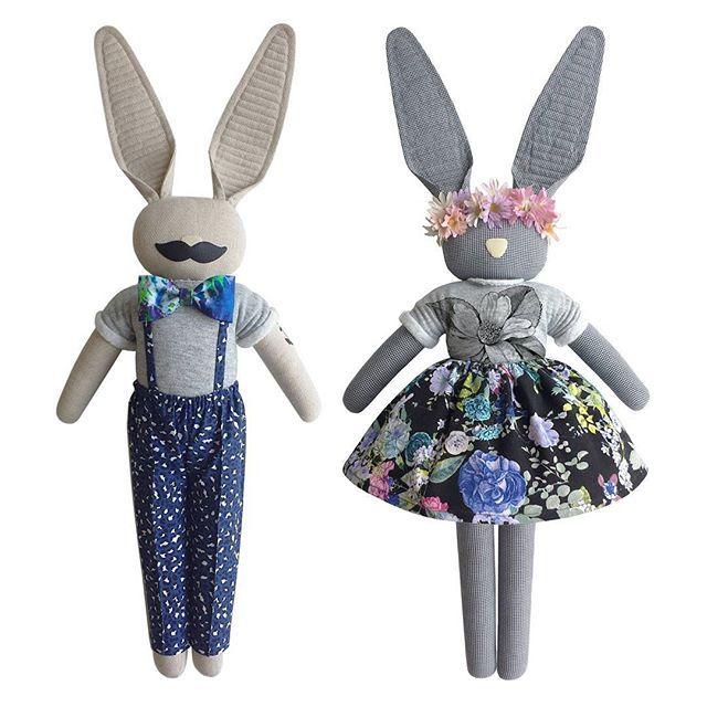 Mister Bunny & Bunny - navyplum.com