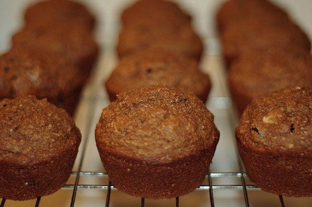 Cranberry Walnoot en Zemelen Muffin