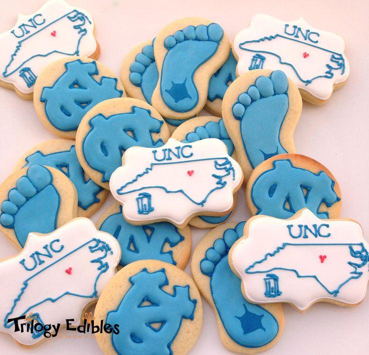 UNC - Chapel Hill ~ Cookie Connection @North Carolina Tar Heels @University of North Carolina at Chapel Hill  #UNC #tarheels #cookies