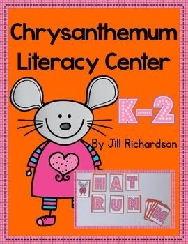 This activity is a great Literacy Word Work Center to use after the children have read Chrysanthemum by Kevin Henkes