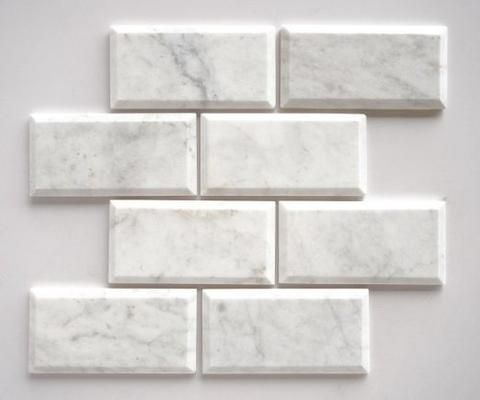 White Kitchen Tiles best 25+ beveled subway tile ideas on pinterest | white subway