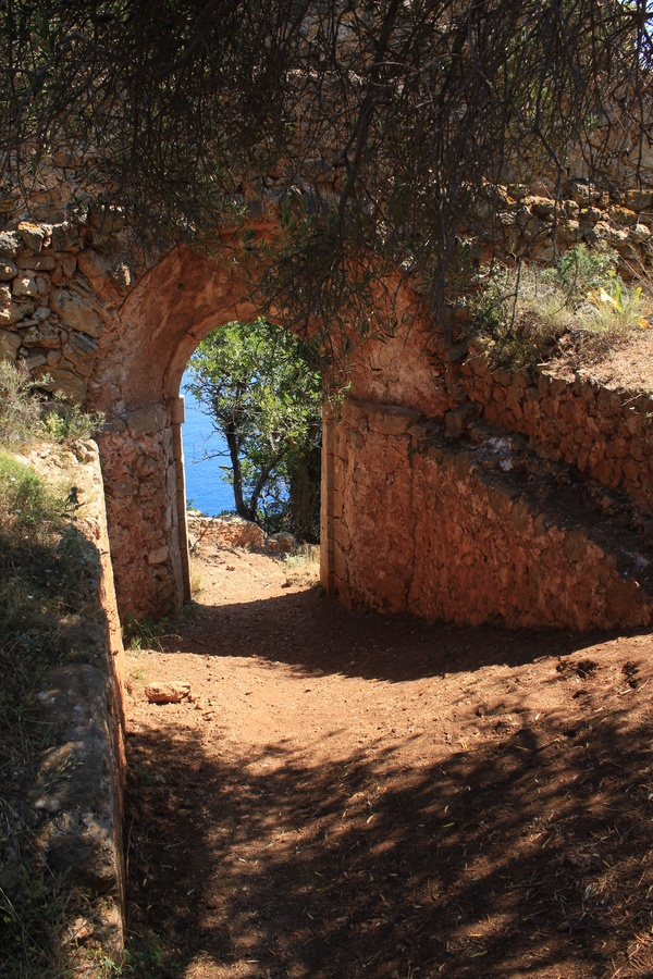 Beautiful Passage on the island of Kefalonia, Greece *