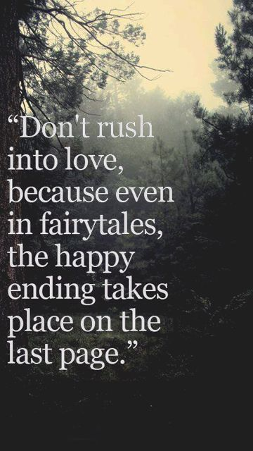 I need to remember that. One month is too fast to love him. Need to be content at the pace it is going.