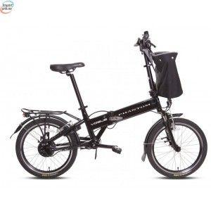 Vogue Phantom Black - Sammenleggbar el-sykkel