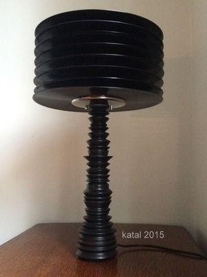 La lampe 33T  - upcycling lights