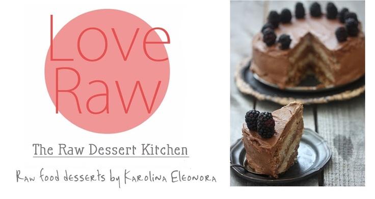 raw desserts like mango lime tarts and chia pudding