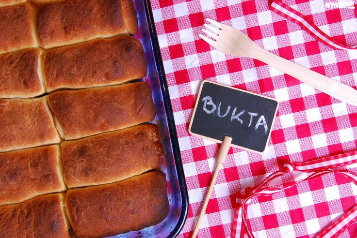 Bukta - Traditional hungarian dessert