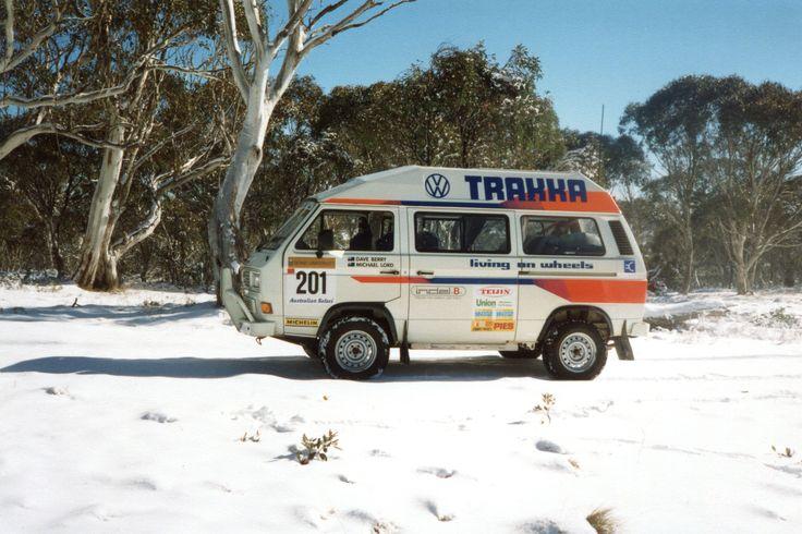 Trakka VW Syncro 4x4 Campervan