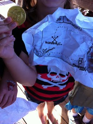 pirate treasure hunt ideas
