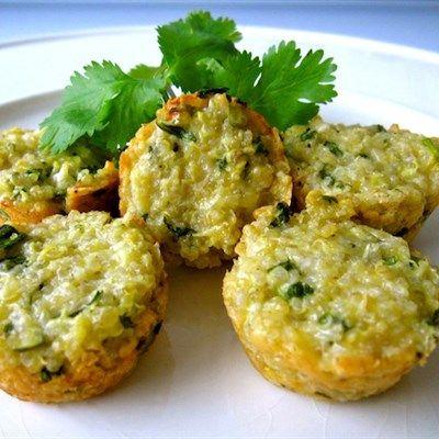 Parmesan Quinoa Bites | Recipes | Beyond Diet