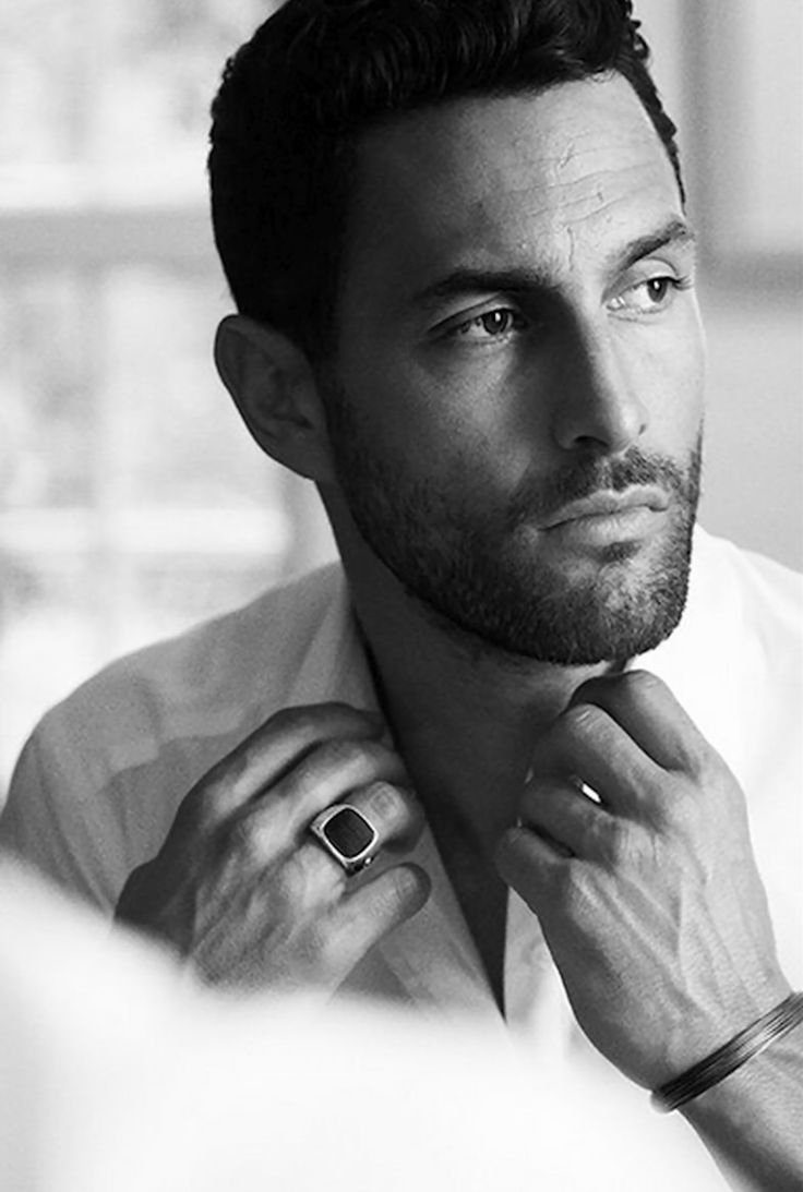 Noah Mills for David Yurman Fall 2015 Campaign
