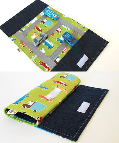 Billy Car Play Mat Roll Up sewing pattern by Handmade Therapy
