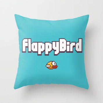 Flappy Bird Throw Pillow by Max Jones - InStores