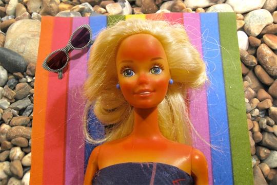 Sunburn Barbie