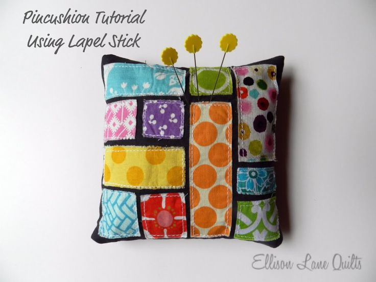 Super cute and EASY Pin Cushion tutorial. This is a great scrap buster. by & 145 best Pincushion Crush images on Pinterest | Embroidery ... pillowsntoast.com