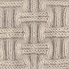 Wicker Stitch Pattern 1
