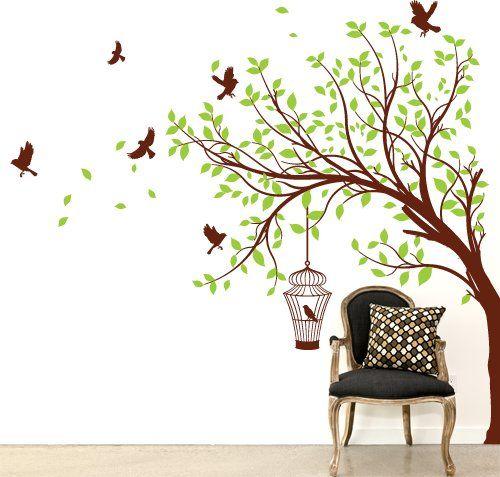 Oltre 1000 idee su decorazione della parete di carta su - Albero su parete ...