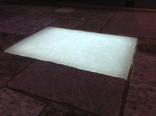 Led Backlit 100 Recycled Glass Paver Lights Add A