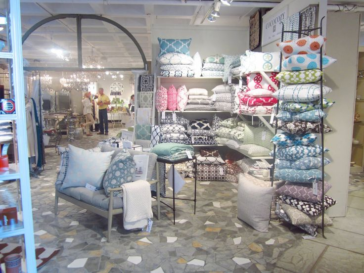 Showroom, Pillows and Google on Pinterest