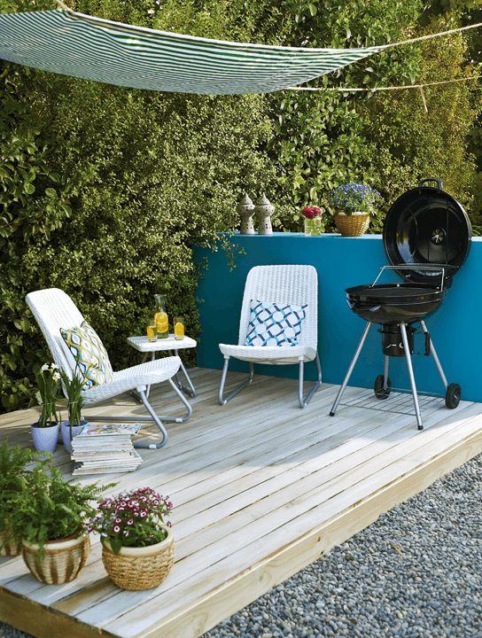 Mira qué sencilla idea para transformar un jardín en un espacio para disfrutar cómodamente. ¡Cambia, vive mejor!  #Primavera #Deco #Terraza #EasyTienda #TiendaEasy #primaveraverano #cambiavivemejor