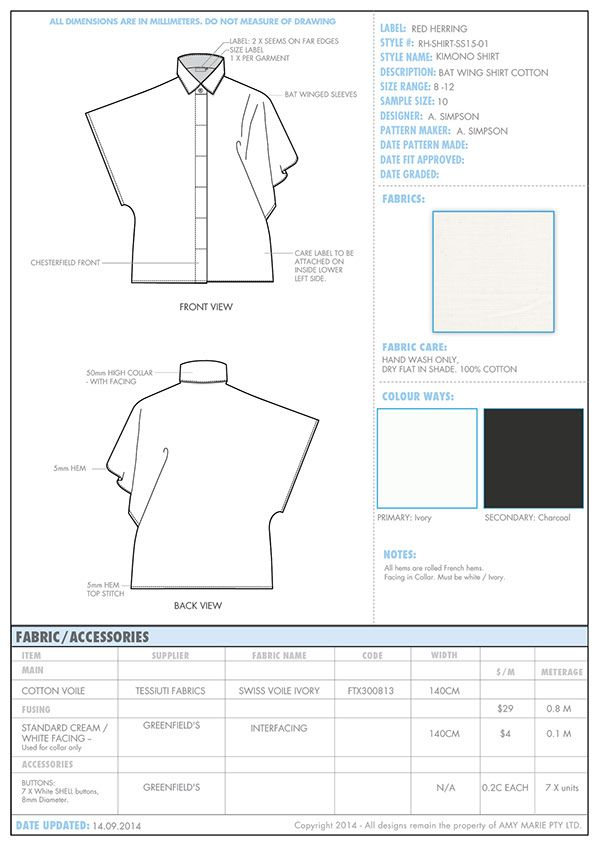 114 best spec sheet images on Pinterest Drawings, Modeling and - sample specification sheet template example