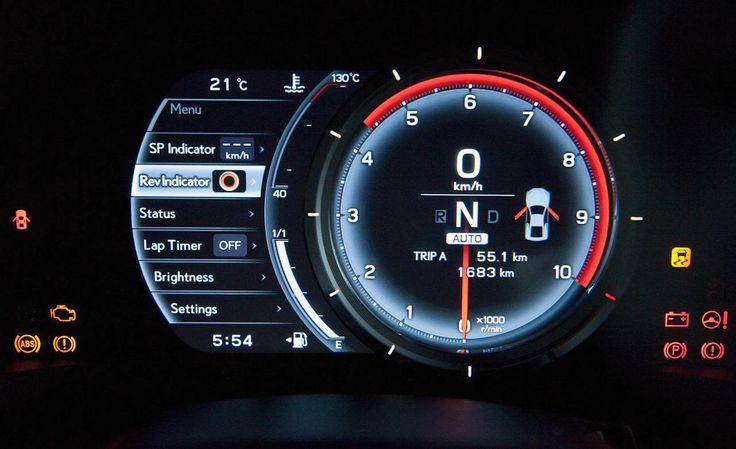 2012 Lexus Lfa Instrument HD Widescreen Wallpaper