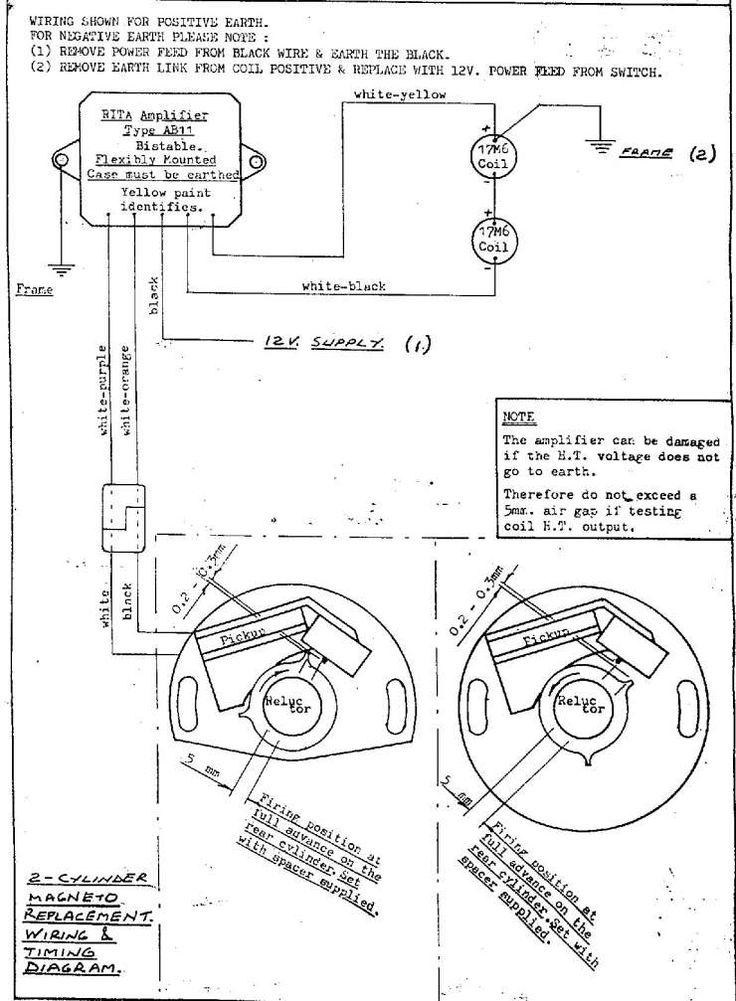 Motorcycle Magneto Wiring Diagram and Yamaha V Motorcycle