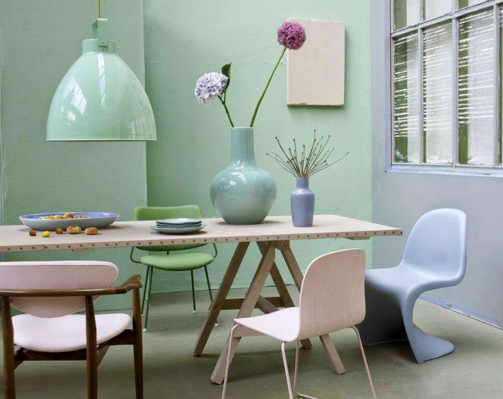 Las 25 mejores ideas sobre salas de color verde menta en - Pintura pared verde ...