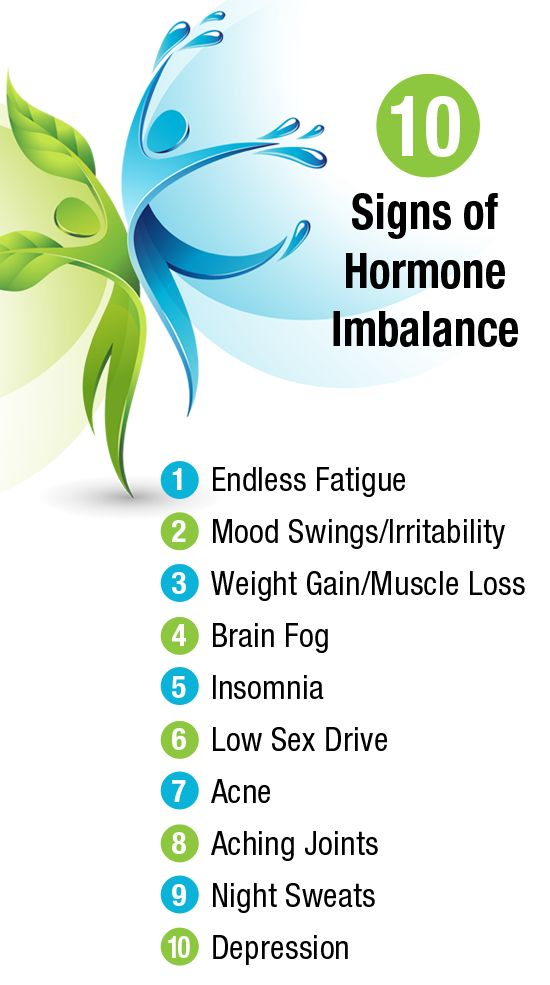 10 Signs of Hormonal Imbalance.... funny that I literally have all of these but never realized it.