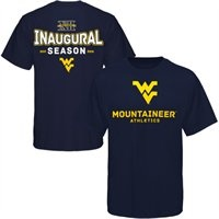 Commemorate WVU's first Big 12 season! #Mountaineers: Wvu Mountaineers, Inauguration Seasons, Big 12, Mountain Big, Mountain Gears, 12 Inauguration, Navy Blue, Seasons Double Sid, West Virginia Mountain