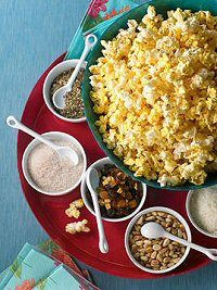 Popcorn with mix-ins to customize individually!