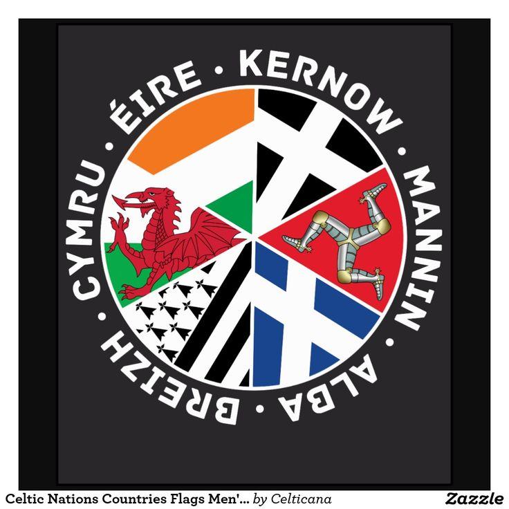 Celtic Nations Celtic Celtic Nations Celtic Mens Tee