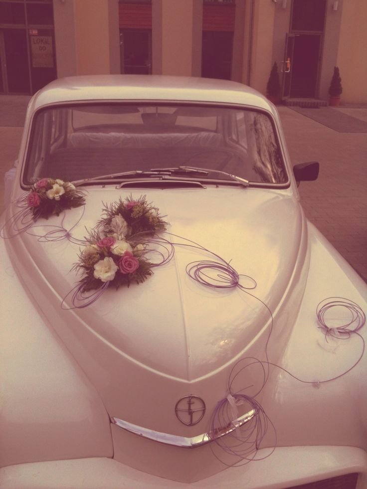 vintage car - new wedding decoration