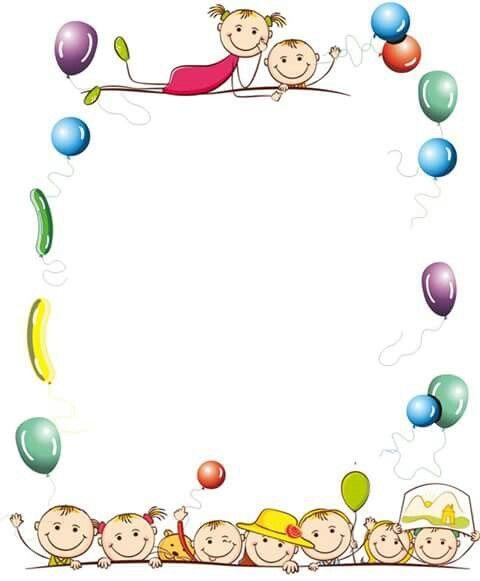 Borde con globos