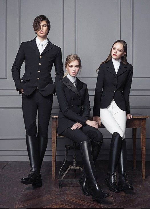 www.pegasebuzz.com | Equestrian Fashion : Michael and Kenzie 1911.